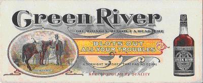 Green River Whiskey Blotter